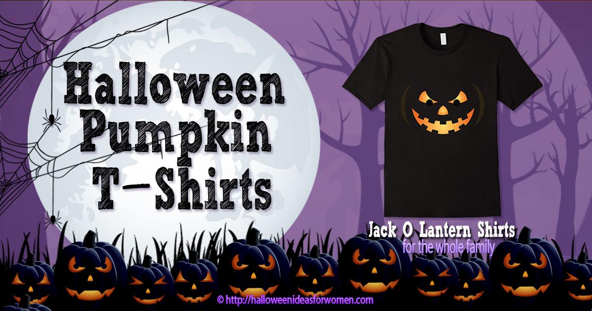 50304ff5447bf Halloween Pumpkin Shirts | Halloween Ideas For Women
