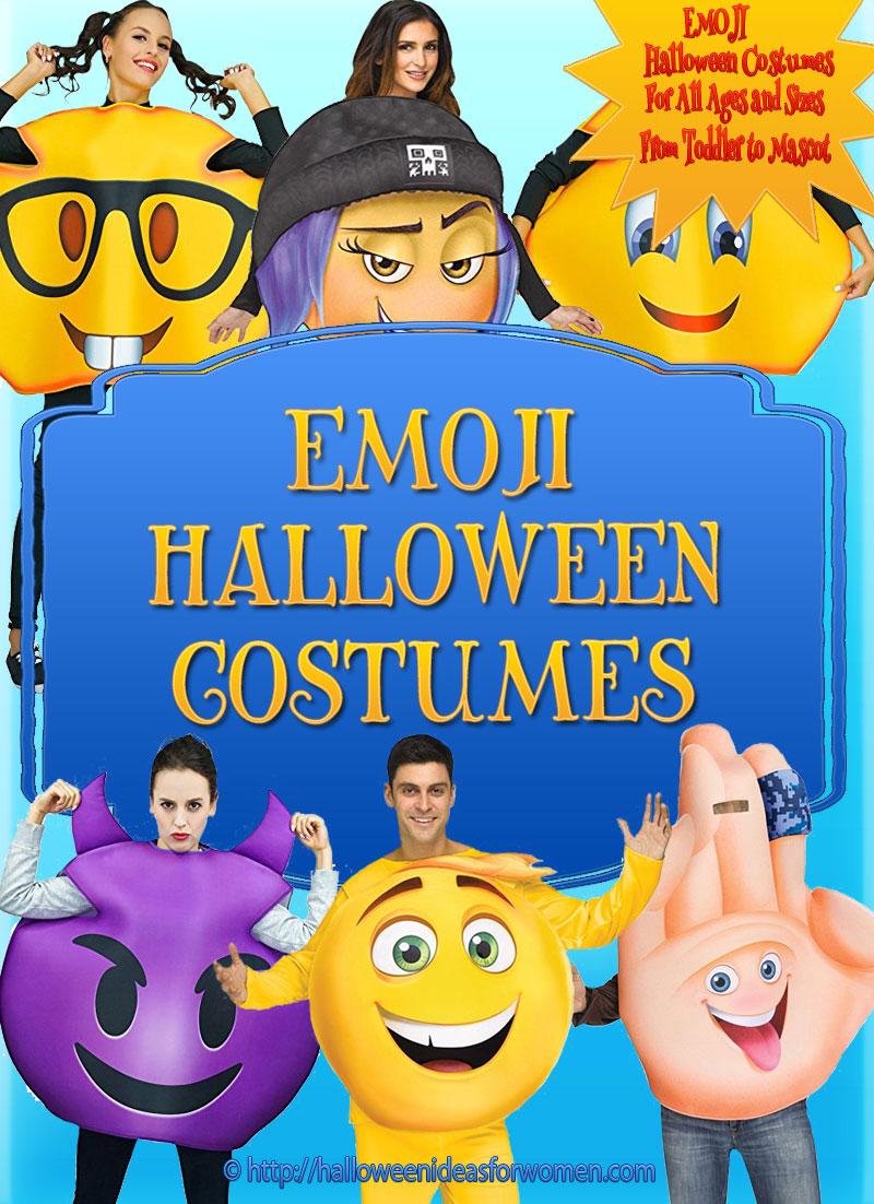 Emoji Halloween Costume Ideas