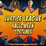 Justice League Halloween Costumes