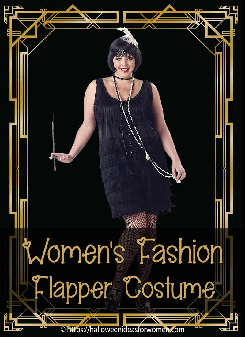 California Costumes Women Fashion Flapper Plus Size Costume