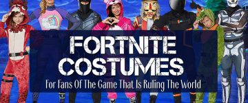 Fortnite Costume And Accessories For Kids And Adults