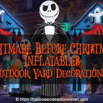 Nightmare Before Christmas Inflatables