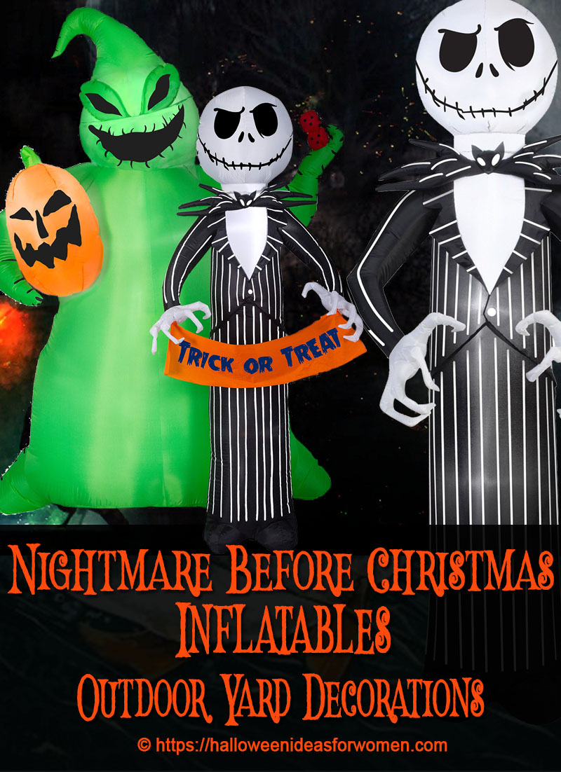 Nightmare Before Christmas Inflatables | Halloween Ideas For Women