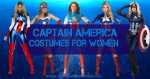 Captain America Costumes For Women
