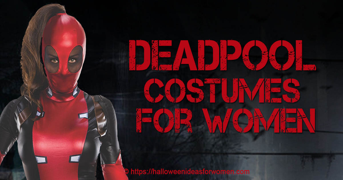 8cdd6fc2ed9 Deadpool Costumes For Women