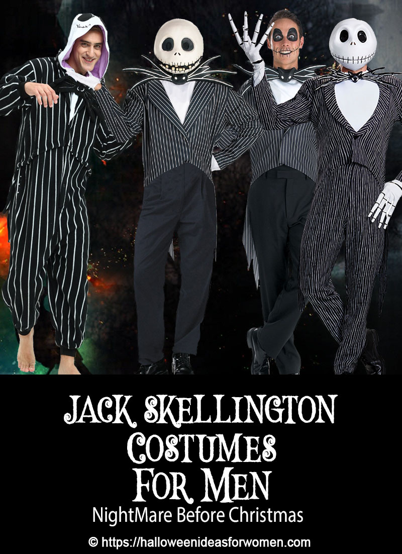 Jack Skellington Costume For Men