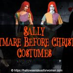 Sally Nightmare Before Christmas Costumes